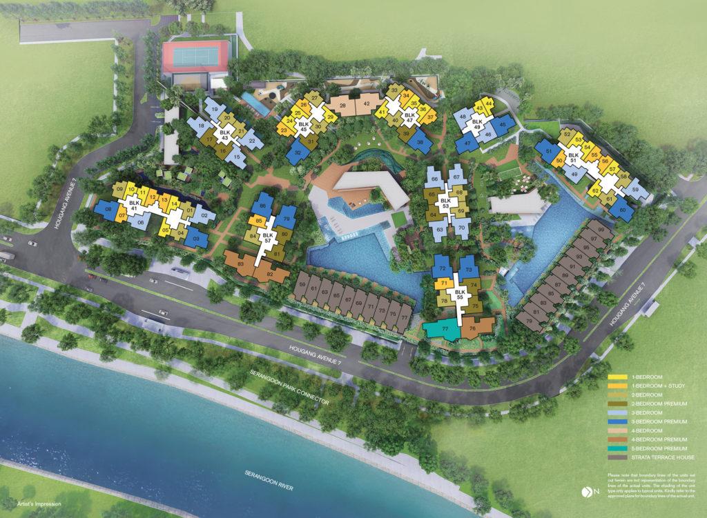 siteplan--riverfront-residences-singapore
